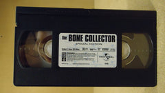 Universal The Bone Collector VHS Movie  * Plastic * -- Used