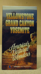 Questar Yellowstone Grand Canyon Yosamite VHS Movie  * Plastic * -- Used