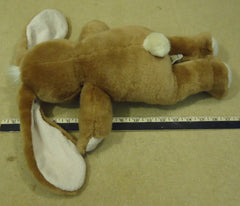 Build-A-Bear Brown Bunny Stuffed Animal  * Fabric * -- Used