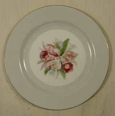 Noritake 5049 Vintage Salad Plate 7 1/2in China Gold Rim -- Used