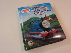 Britt Allcroft Thomas And Friends Railway Rhymes 51199 Book Hardcover -- Used