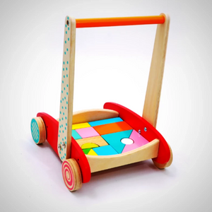 Baby walker block set with wheels-modern line furniture