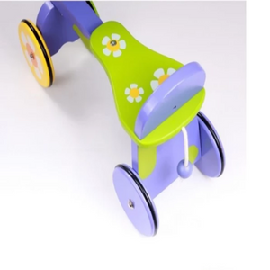 Baby colourful ride on back view-modern line furniture