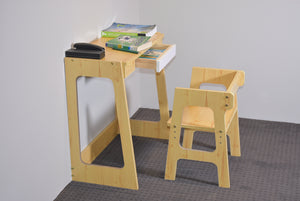 Kids Desk & Chair Set Top - Modern Line Furniture