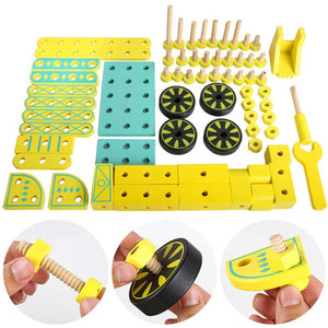 Wooden Excavator Assembly Kit View - Modern Line Furniture