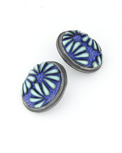 Load image into Gallery viewer, Button Earrings #326