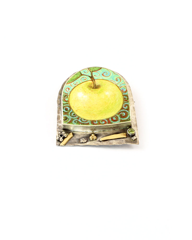 Granny Smith Brooch