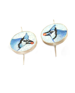 Blue Jays Earrings