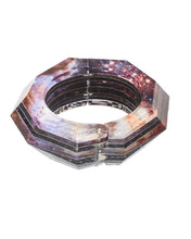 Load image into Gallery viewer, Faceted Hinge Bracele