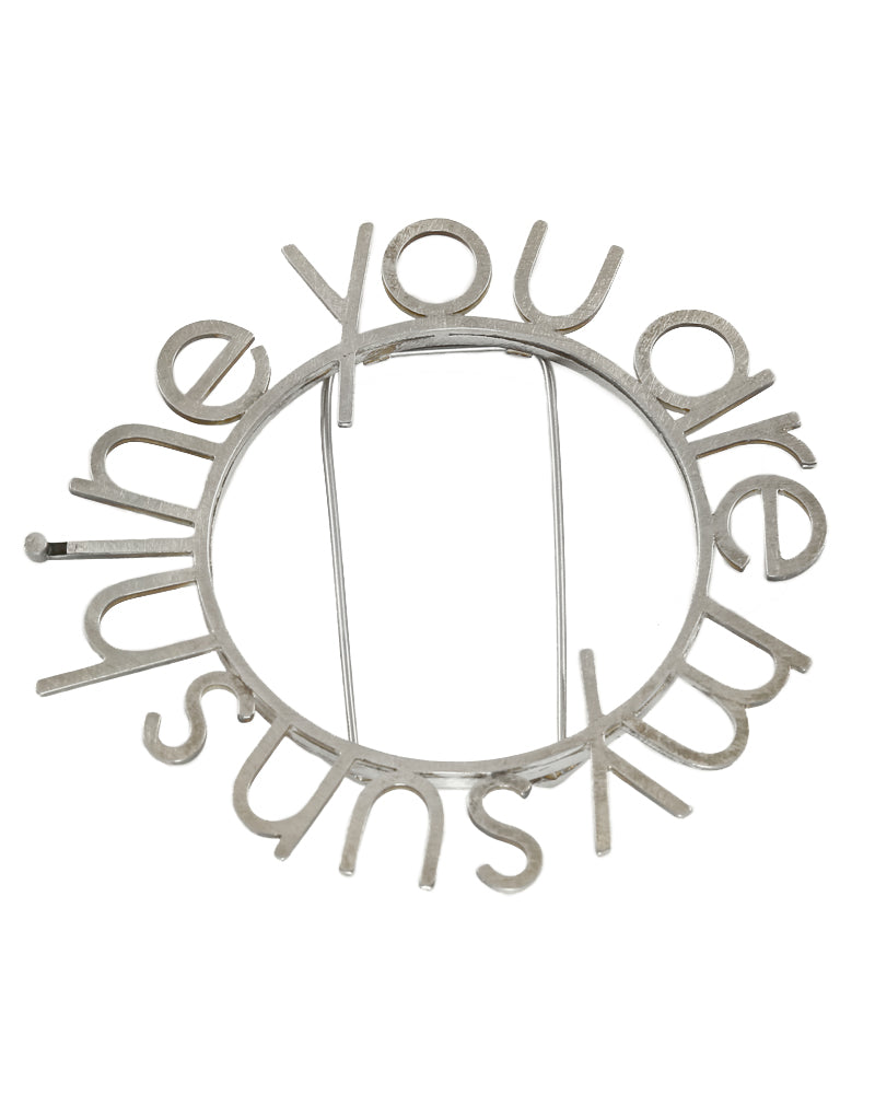 You Are My Sunshine Brooch