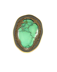 Granulated Turquoise Pendant