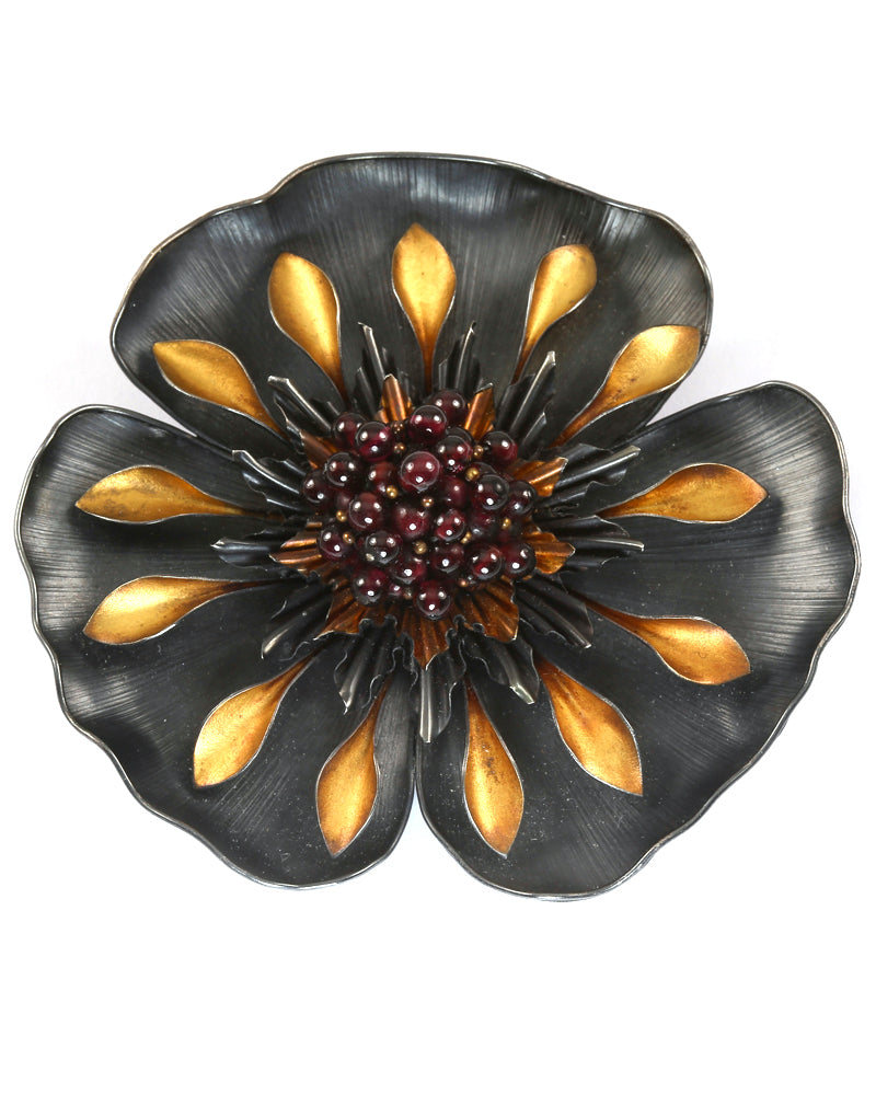 Tropical Flower Brooch/Pendant