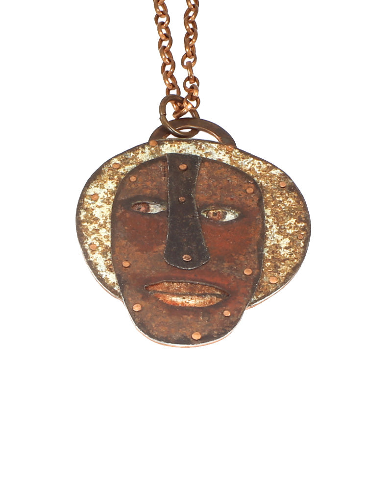Ritual Mask Necklace