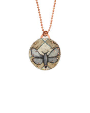 Load image into Gallery viewer, Moth of Grid Pendant