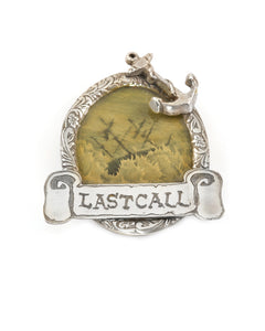 Last Call Brooch
