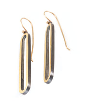 Load image into Gallery viewer, Long Oval Earrings