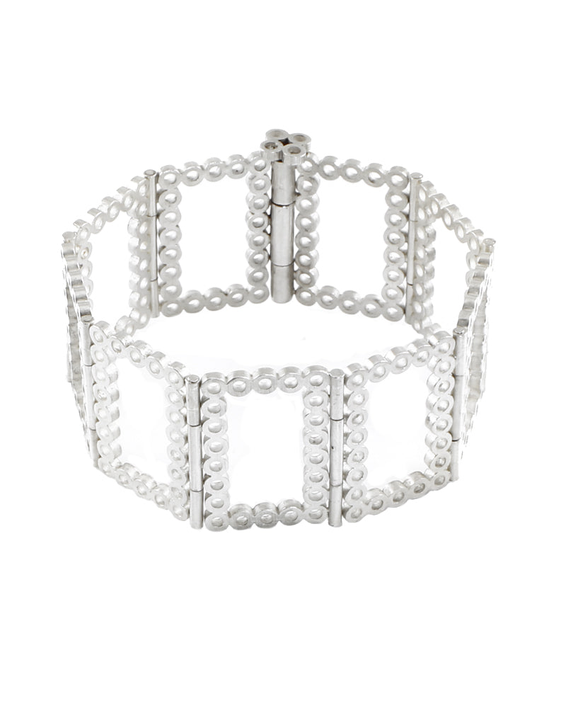 Rectangular Hinged Bracelet