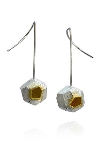 Faceted Earrings