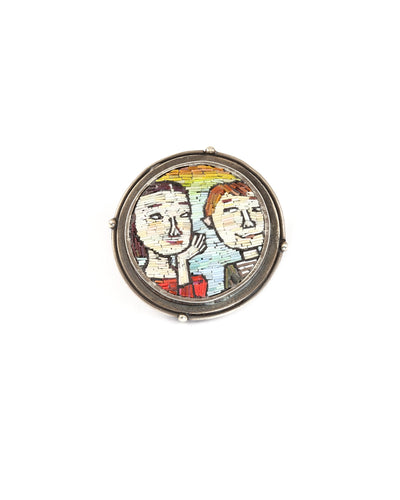 Friends Pin