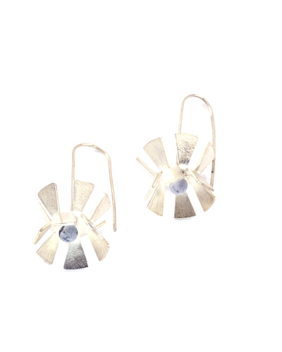 Folded Basket Earrings