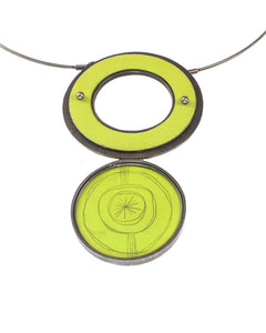 Dual Bitter Circles Necklace