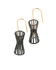 Wire Basket Earrings