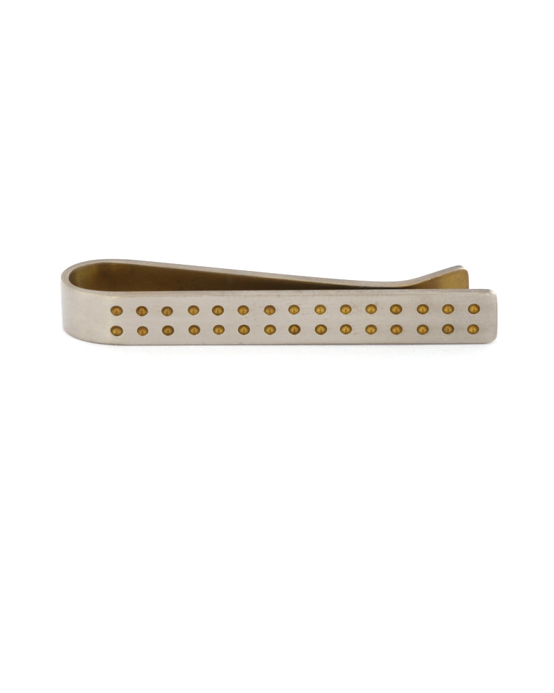 Short Grid Tie Slide, Yellow dots