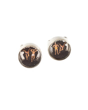 Load image into Gallery viewer, Black Sand Beach Cufflinks