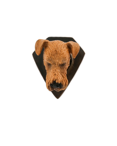 Airedale Brooch