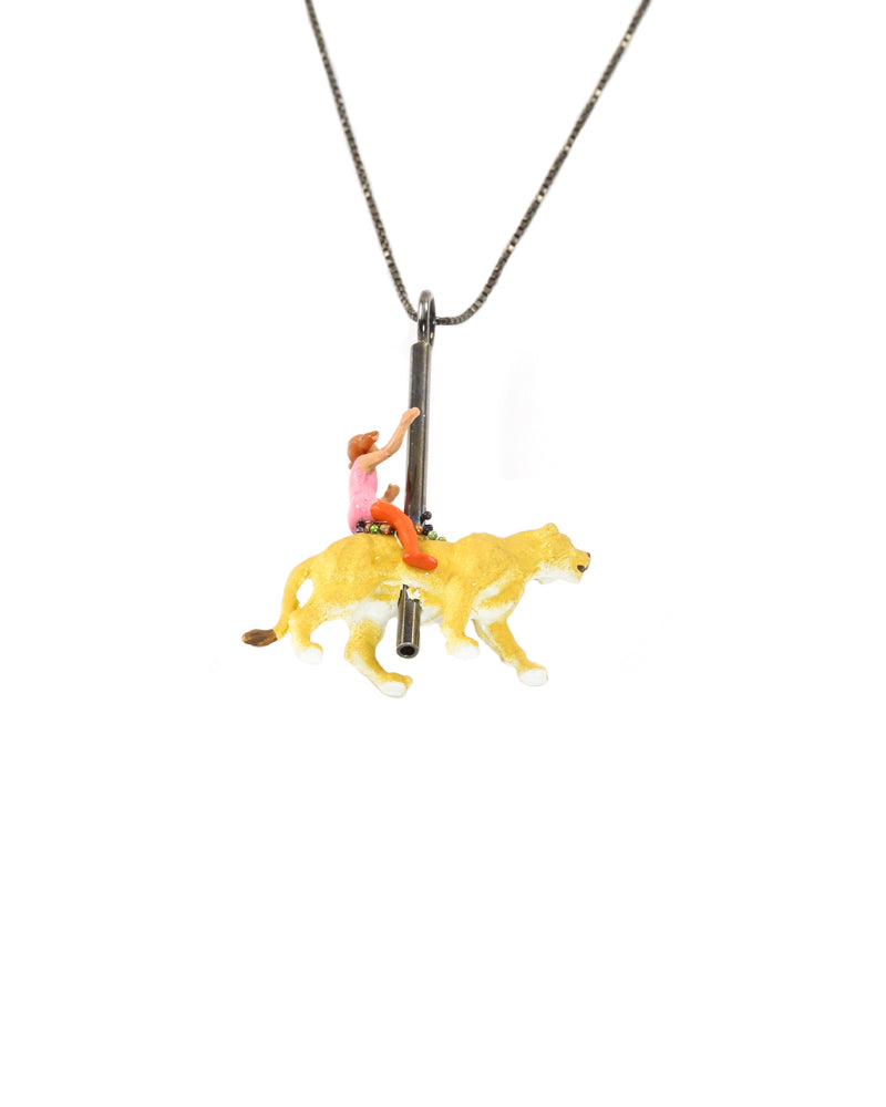 Carousel Lion Necklace