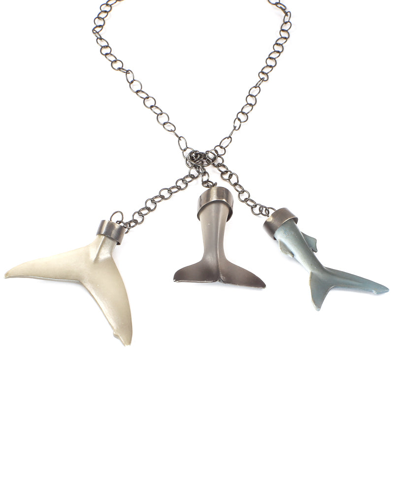 Long Shark Tail Necklace