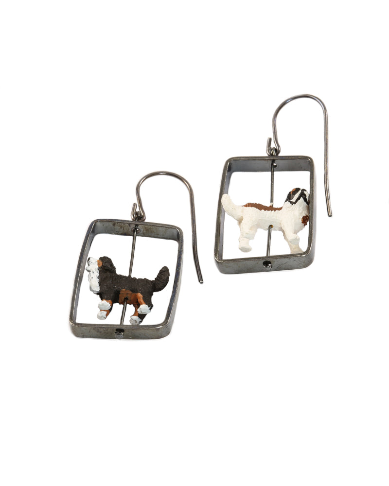 Dogs Earrings
