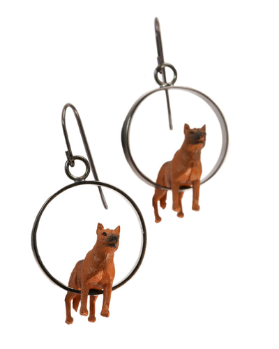 Shepherd Dog Earrings
