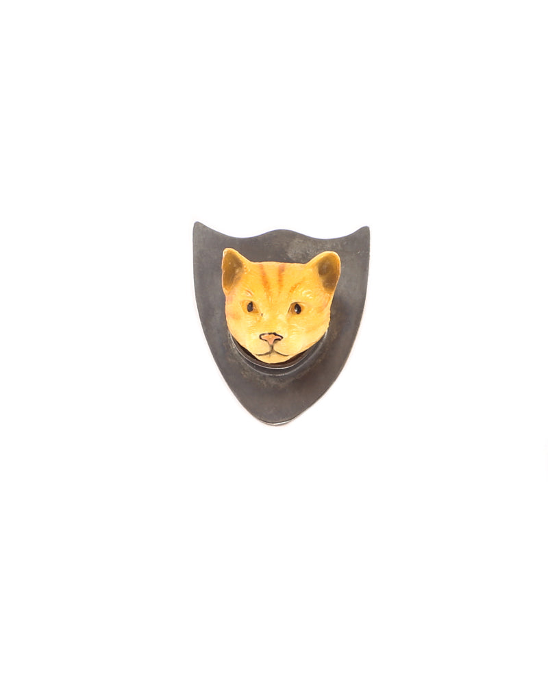 Golden Cat Brooch