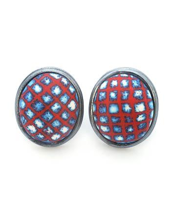 Button Earrings