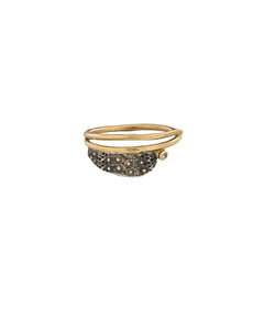 Urchin Ring With Diamond 6.5