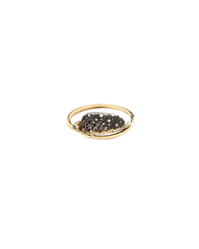 Urchin Ring With Diamond