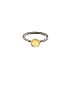 Gold Dot Ring 6