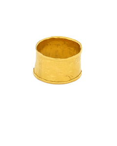 Wide Folded Edge Everchanging Ring