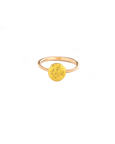 Gold Blip Ring