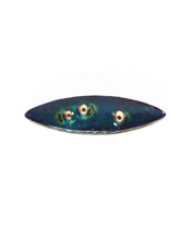 Load image into Gallery viewer, Eye Pod Blue Brooch