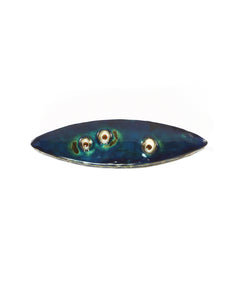 Eye Pod Blue Brooch