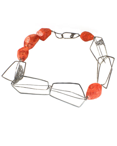 Coral Structure Necklace
