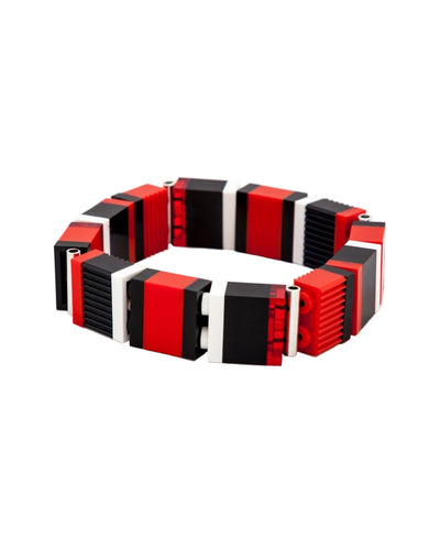 Slim Checkers Bracelet