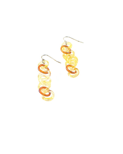 Yellow/Amber Earrings