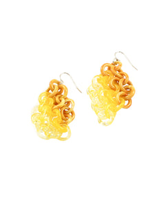 Yellow Earrings #1