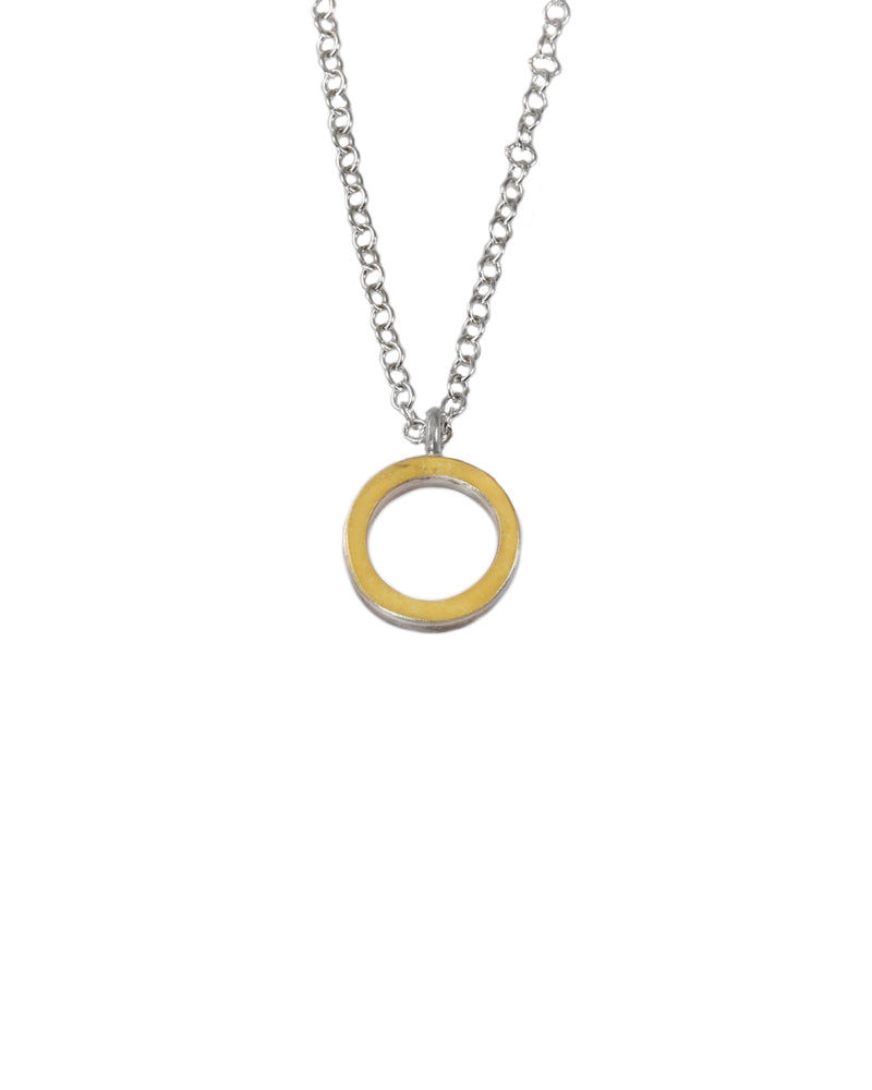 22K Circle Necklace