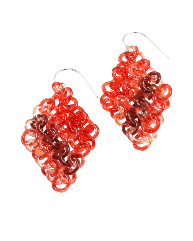 Chainmail Red Glass