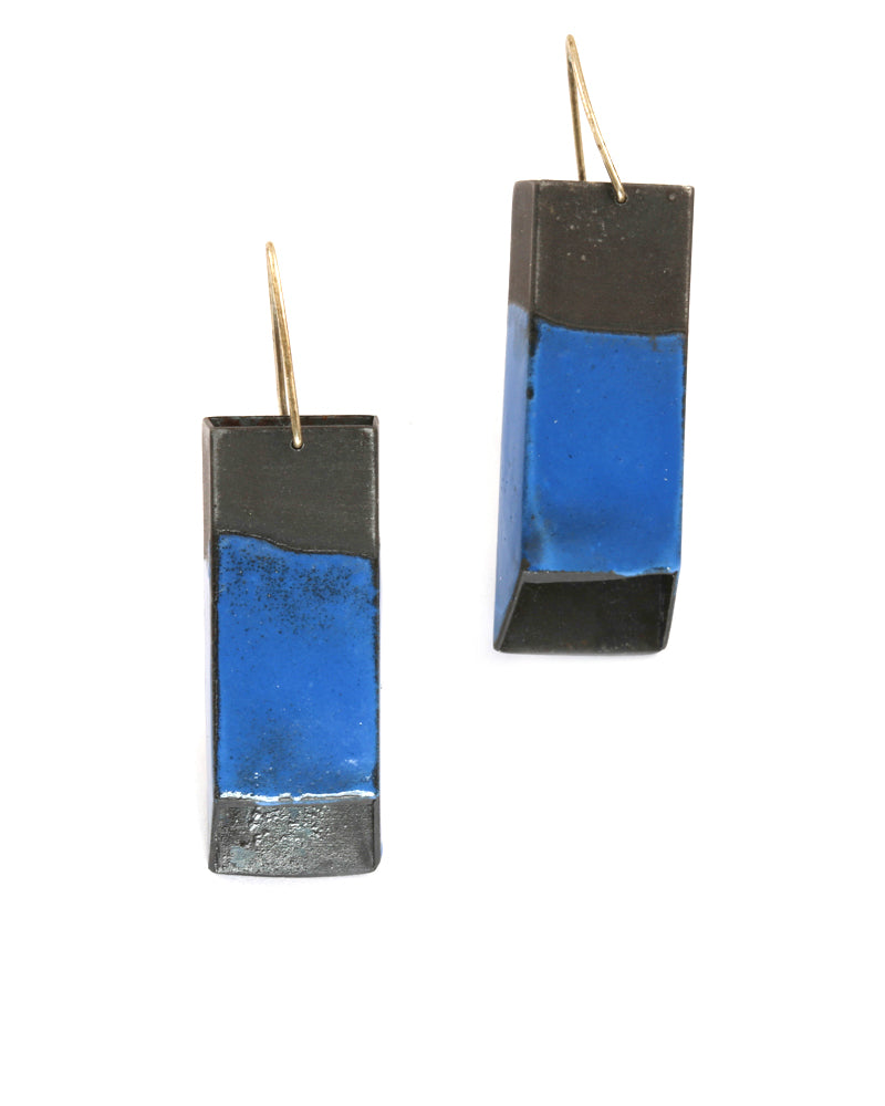 Rectangular Tube Earrings