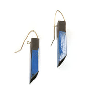 Load image into Gallery viewer, Rectangular Tube Earrings